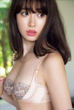 小嶋陽菜 マシュマロ美乳とハーフカップブラ