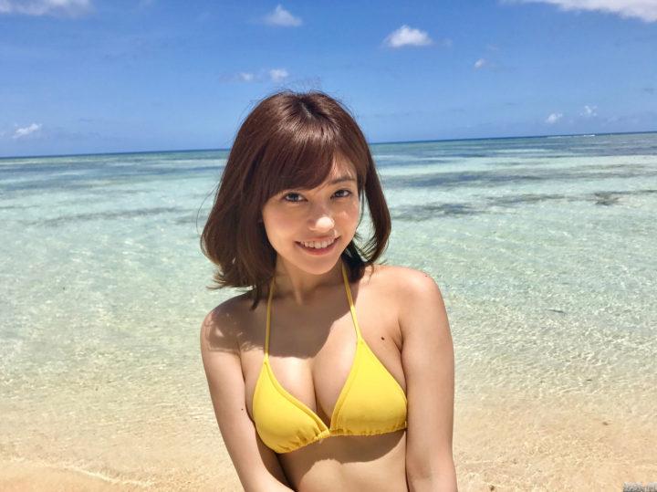 大澤玲美 ぷりぷり美乳と最高のビーチ