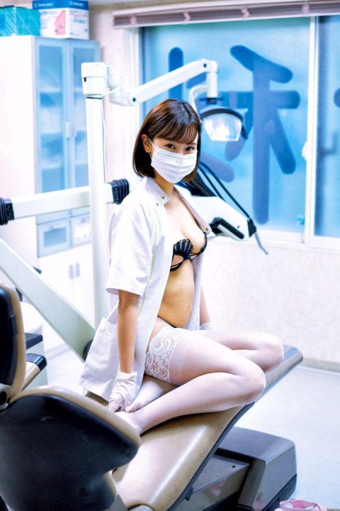 西原愛夏 Fカップ現役歯科衛生士の下着