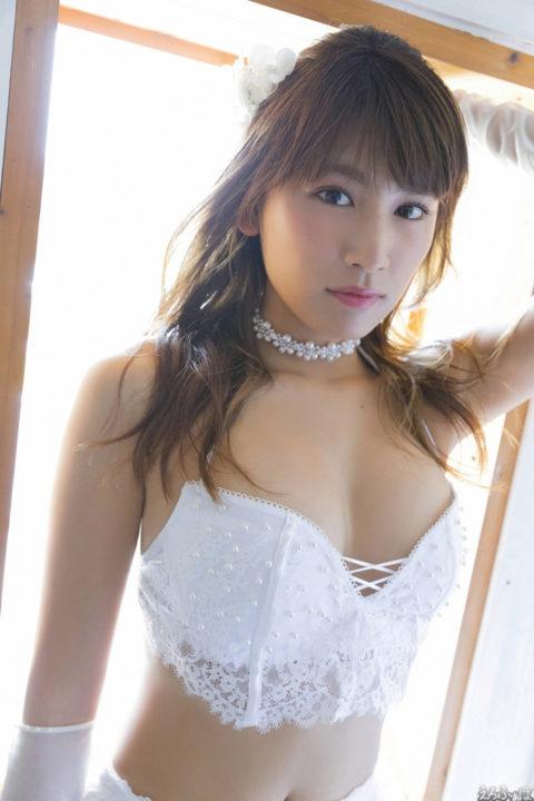久松郁実 ムラムラして仕方ないウェディングドレス