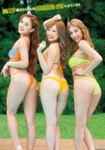 サイバージャパンの3連ビキニ尻