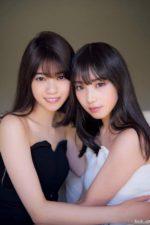 乃木坂46西野七瀬と与田祐希 美しい二人の仲良しグラビア
